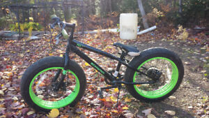 Kids Fat bike 6 speeds for sale