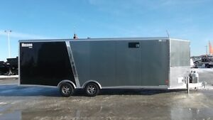 2016 Mission Trailers 8.5X24'  Heated Sled Trailer