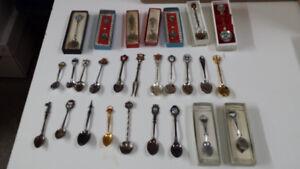 collection de Cueillères Canada, US, Europe, Antilles