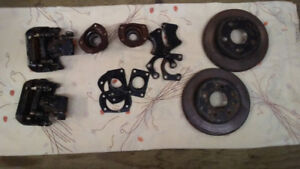 """Ford 8.8"""" axle brakes and C clip eliminator kit"""