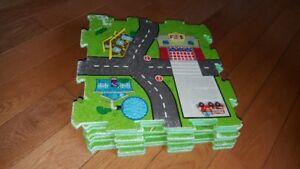 Map/Road Foam Puzzle Mat