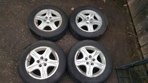 ford taurus rims and tires 215/60/16 (5x108/5x4.25)