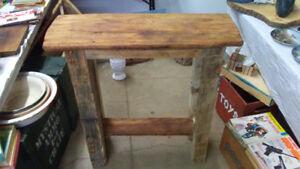 Superbe et unique meuble en bois de grange