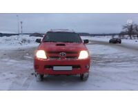 toyota hilux left hand drive