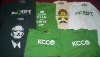 Official TheChive shirts.