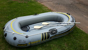 Sevylor Super Caravelle 3 person inflatable boat