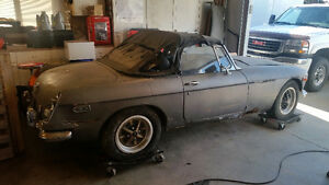 1973 MGB convertible project car