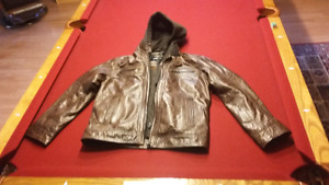 Daniel men's leather jacket
