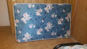 Large twin bed