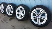 """2011 SAAB 9-3 17"""" inch tires and Alloy Wheels"""