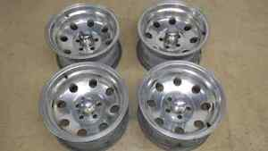 "JEEP YJ TJ 15"" INCH ALUMINUM RIMS EAGLE ALLOY 058"