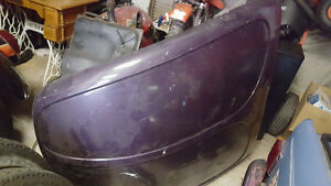 71 Super Beetle front fenders and hood