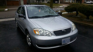 2007 Toyota Corolla CE Sedan - Safetied & E-Tested - Low KMs