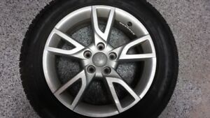 Pneus d'hiver avec mags Audi Q3