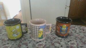 Des tasses de collections