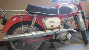 1967 Suzuki K15P Hill Billy antique and collectable motorcycle