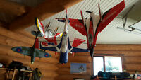RC aircraft collection