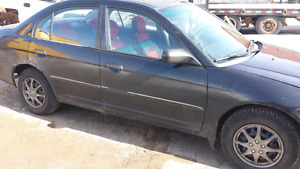 Honda Civic asking 750.00 need gone
