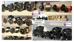 Hot Tub Pumps/Parts/Chemicals/Filters- Competitive Prices!