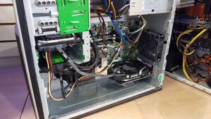 Ordinateur gamer i7-2600, 16 Gb, SSD 120, 500GB, GTX1050 4GB