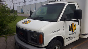 2002 GMC Cube Van - Low KMs and Parked Indoors