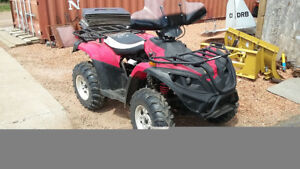 Linhai 4wd ATV 400cc with only 300km