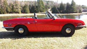 Rare 1970 850 Fiat Spider (Engine in Back)  (PRICE REDUCED)