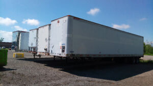 Storage Trailers - Dry Van - Only 2 Units Left