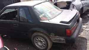 WE ARE PARTING OUT A 1988 FORD MUSTANG Windsor Region Ontario image 1