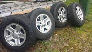 Original Jeep Tires and Rims...used one summer