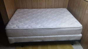 Double Mattress and Box Spring