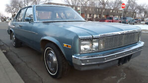 1979 Chevy Nova 4 door 2 barely barebones.