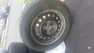 winter tires with rims for sale 4bolt