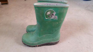 Size 13 youth roughrider rubber boots