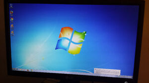"""Used 24"""" LG Wide Screen LCD Computer Monitor for Sale Cambridge Kitchener Area image 1"""