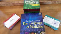 MEDICAL TERMINOLOGY TEXT & FLASH CARDS