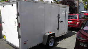 6x12 Enclosed - Park & Pull service $45hr