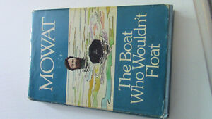 Farley Mowat; The Boat Who Wouldn't Float, 1974 Kitchener / Waterloo Kitchener Area image 1