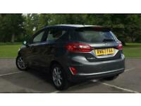 2017 Ford Fiesta 1.0T EcoBoost Zetec Auto (s/s) 5dr Hatchback Petrol Automatic