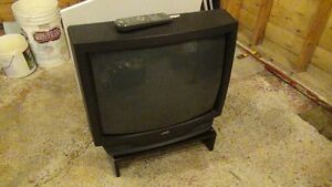 """27"""" JVC CRT TV with remote and stand Or Best Offer"""