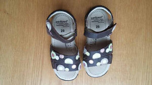 LIKE NEW - Pediped leather sandals - size 11.5 toddler