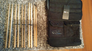 Lexdray x Tony Royster, Jr Case, with 5 Drumstick pairs