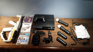 PS3 Slim Ultra Bundle, Games, Controllers, Accessories