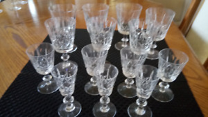 Cross and Olive Crystal - Various sizes