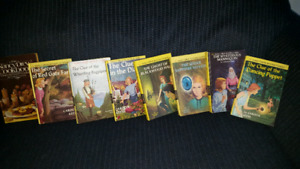 Nancy Drew Books 1970's