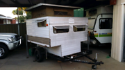 SLIDE ON CAMPER RARE POP TOP 6FT W X 7FT L 2 BERTH Rydalmere Parramatta Area Preview