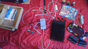 Wii U 32GB Console - With Splatoon and Related Accessories