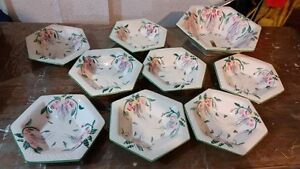 Pottery Salad Bowl Set