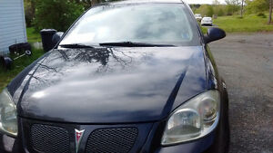 2007 Pontiac G5 Black Coupe (2 door)