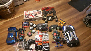 Traxxas rally 1-10th includes everything in box.